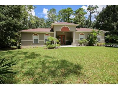 Wesley Chapel Single Family Home For Sale: 27853 Lincoln Place