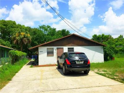 Hernando County, Hillsborough County, Pasco County, Pinellas County Multi Family Home For Sale: 8105 N Klondyke Street