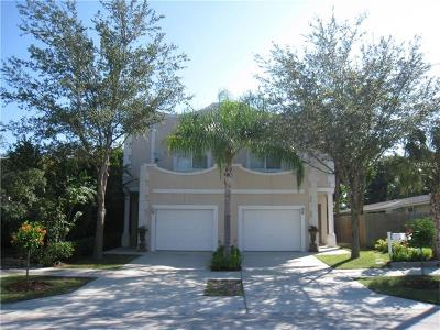 Tampa Townhouse For Sale: 204 S Melville Avenue #1