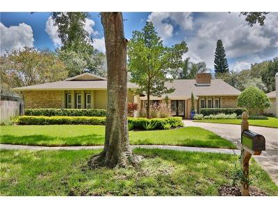 Tampa Single Family Home For Sale: 4010 Priory Circle