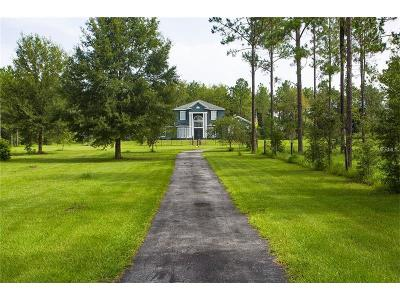 Dade City Single Family Home For Sale: 36001 Lanigan Road
