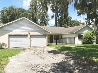 Lutz Single Family Home For Sale: 1102 Sunset Ln