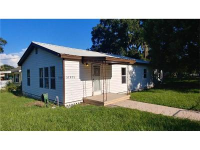 Dade City Single Family Home For Sale: 37023 Florida Avenue