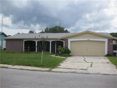 New Port Richey Single Family Home For Sale: 4522 Glissade Drive