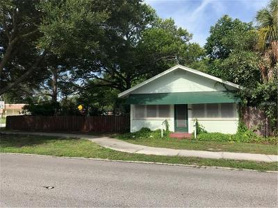 St Petersburg Single Family Home For Sale: 2606 16th Street N