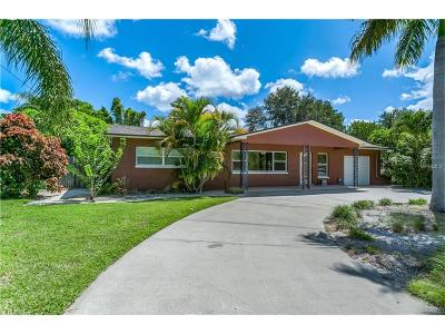 St Pete Beach Single Family Home For Sale: 496 39th Avenue