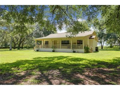 Dade City Single Family Home For Sale: 11249 Pell Court