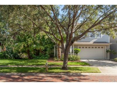 Tampa Townhouse For Sale: 2845 Bayshore Trails Drive