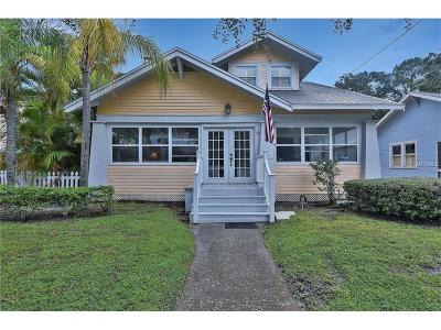 Tarpon Springs Single Family Home For Sale: 215 Bath Street