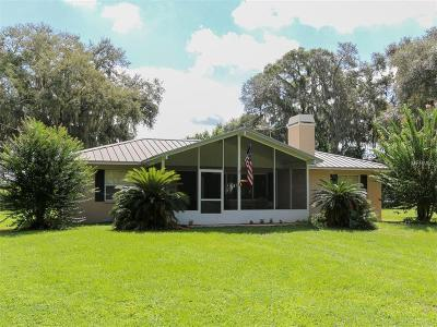 Dade City Single Family Home For Sale: 18316 Townsend House Road