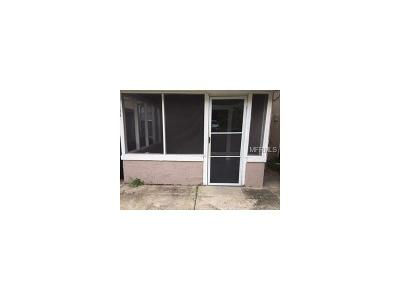 Tampa Rental For Rent: 3317 W Pine Street #Lower