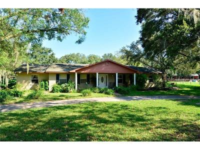 Plant City Single Family Home For Sale: 2502 Country Lane