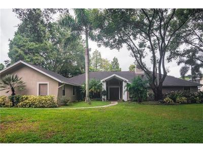 Tampa Single Family Home For Sale: 10106 Lake Cove Lane