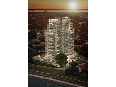 Tampa Condo For Sale: 3401 Bayshore Boulevard #602