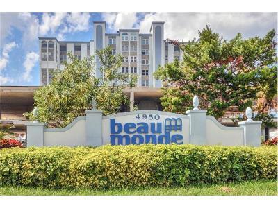 Saint Pete Beach, St Pete Beach Condo For Sale: 4950 Gulf Boulevard #210