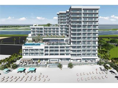 Clearwater Beach, St Pete Beach Condo For Sale: 691 S Gulfview Boulevard #1406