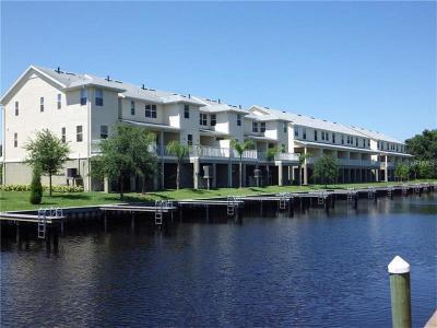 Tarpon Springs Townhouse For Sale: 838 Callista Cay Loop