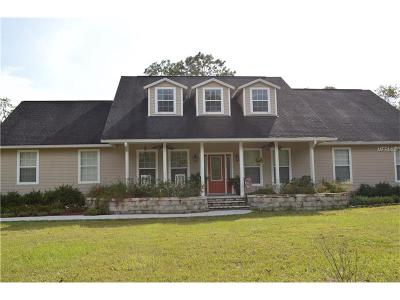 Dade City Single Family Home For Sale: 37430 Pappy Road