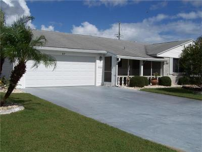 Sun City Center Single Family Home For Sale: 819 Oakmont Avenue