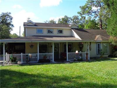 Single Family Home For Sale: 5814 Half Moon Lake Road