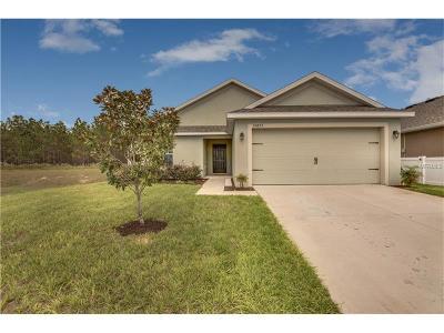 Brooksville Single Family Home For Sale: 30873 Satinleaf Run