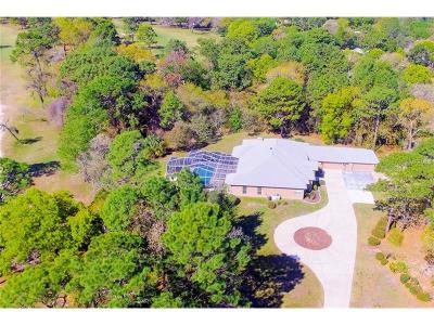Homosassa Single Family Home For Sale: 32 Seagrape Street