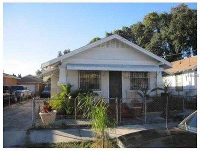 Tampa Single Family Home For Sale: 1309 E 20th Avenue