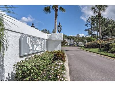 Tampa Townhouse For Sale: 4209 Brentwood Park Circle