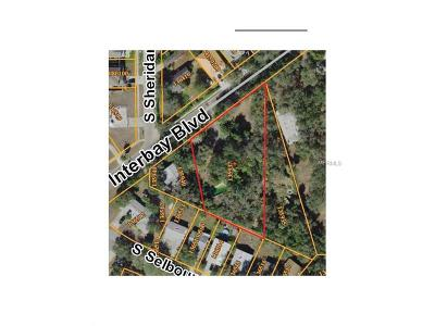 Tampa Residential Lots & Land For Sale: 6230 Interbay Boulevard