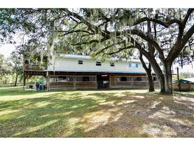 Plant City Single Family Home For Sale: 6306 Barton Road