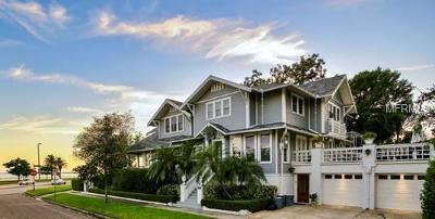 Single Family Home For Sale: 1501 Bayshore Boulevard