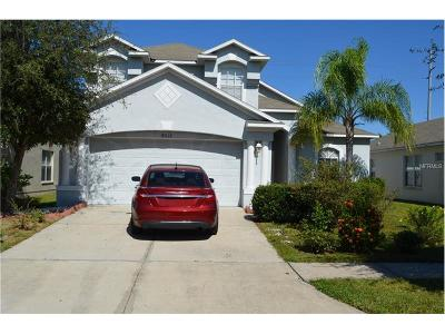Hernando County, Hillsborough County, Pasco County, Pinellas County Single Family Home For Sale: 8212 Carriage Pointe Drive