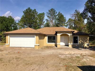 Hernando County Single Family Home For Sale: 13337 Twin Lake Avenue