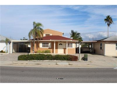 Indian Shores Single Family Home For Sale: 18515 Gulf Boulevard