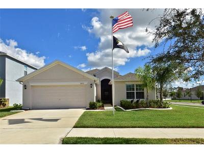 Wimauma, Wimauma` Single Family Home For Sale: 16622 Magnolia Reserve Place