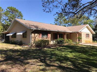 Tarpon Springs Single Family Home For Sale: 2975 Bryan Lane