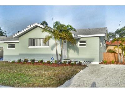 Madeira Beach Single Family Home For Sale: 154 154th Avenue