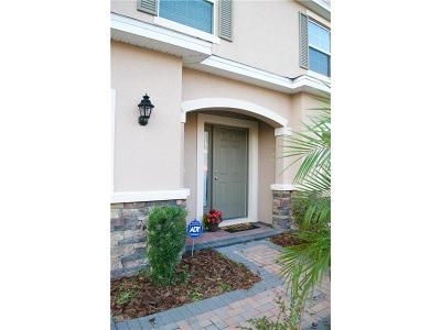Wesley Chapel Townhouse For Sale: 3751 Silverlake Way