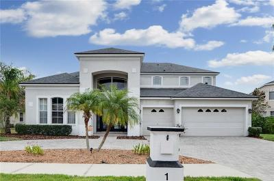 Tampa Single Family Home For Sale: 17918 Bahama Isle Circle