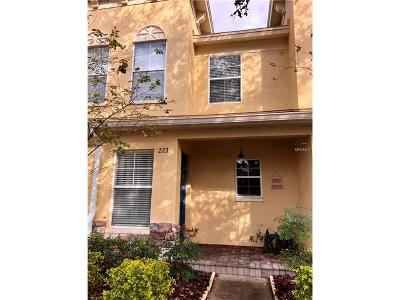 Valrico Townhouse For Sale: 223 Hardcastle Place