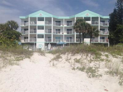 Indian Rocks Beach Condo For Sale: 24 Gulf Boulevard #2B