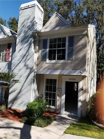 Temple Terrace Townhouse For Sale: 11323 Regal Square Drive