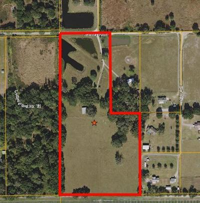 Plant City Single Family Home For Sale: 851 Half Mile Road