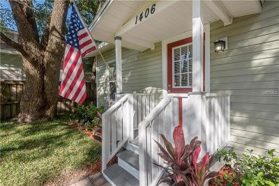 Single Family Home For Sale: 1406 E Palifox Street