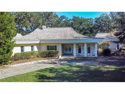 Brooksville Single Family Home For Sale: 9482 Wallien Drive