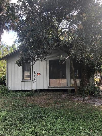 Tampa Single Family Home For Sale: 2005 E Wood Street