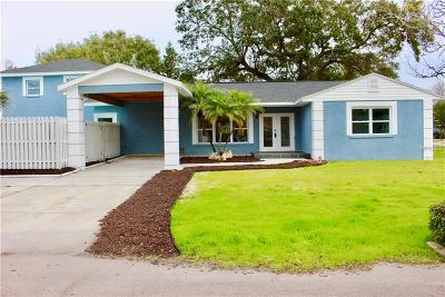 St Petersburg Single Family Home For Sale: 801 74th Street N