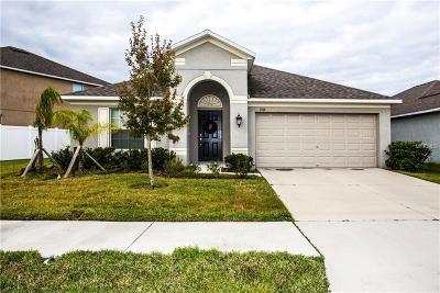 Ruskin Single Family Home For Sale: 1318 Oak Pond Street