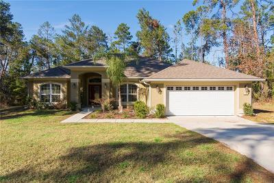 Beverly Hills, Citrus Hills, Citrus Springs, Crystal River, Dunnellon, Floral City, Hernando, Homassa, Homosassa, Inverness, Lecanto, Port Charlotte Single Family Home For Sale: 19 Cosmos Court W