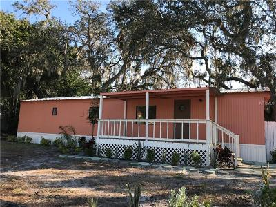 Gibsonton Mobile/Manufactured For Sale: 10928 Country Haven Drive